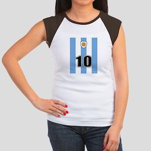 Argentina soccer Women's Cap Sleeve T-Shirt