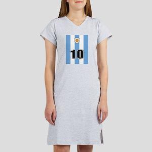 Argentina soccer Women's Nightshirt