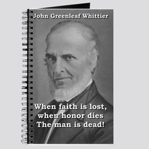 When Faith Is Lost - John Greenleaf Whittier Journ
