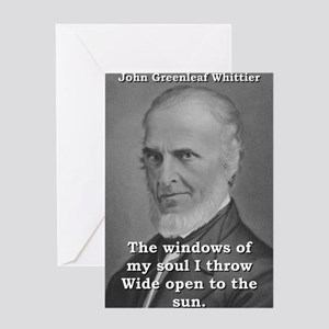 The Windows Of My Soul - John Greenleaf Whittier G