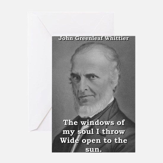 The Windows Of My Soul - John Greenleaf Whittier G