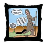 Ruth's Persistence Throw Pillow
