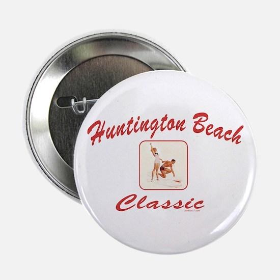 Huntington Beach Classic Button
