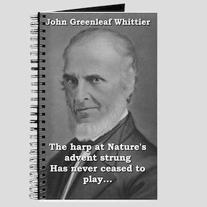 The Harp At Nature's Advent - John Greenleaf W
