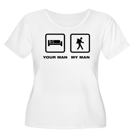 Backpacking Women's Plus Size Scoop Neck T-Shirt