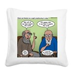 The Dads Square Canvas Pillow