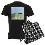 Seven Shepherds Men's Dark Pajamas