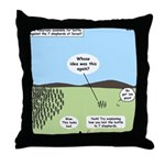 Seven Shepherds Throw Pillow