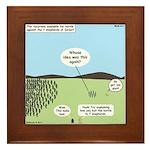 Seven Shepherds Framed Tile