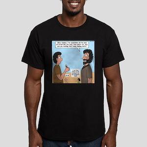 Joshua's Scalpel Men's Fitted T-Shirt (dark)