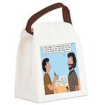 Joshua's Scalpel Canvas Lunch Bag