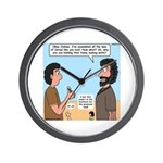 Joshua's Scalpel Wall Clock
