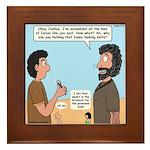 Joshua's Scalpel Framed Tile