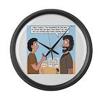 Joshua's Scalpel Large Wall Clock