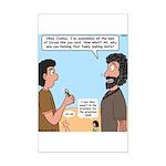 Joshua's Scalpel Mini Poster Print