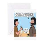 Joshua's Scalpel Greeting Cards (Pk of 10)