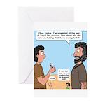 Joshua's Scalpel Greeting Cards (Pk of 20)