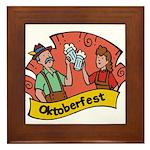 October Fest Framed Tile
