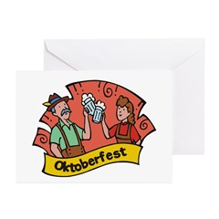 October Fest Greeting Cards (Pk of 10)