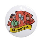 October Fest Ornament (Round)