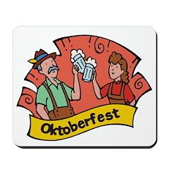 October Fest Mousepad