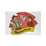 October Fest Rectangle Magnet
