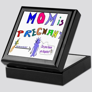 My Mom is Pregnant Keepsake Box