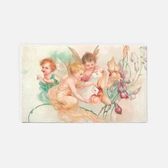 Cupid Angel II 3'x5' Area Rug