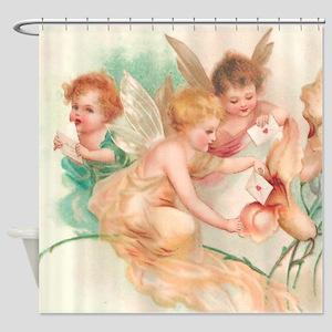 Cupid Angel II Shower Curtain