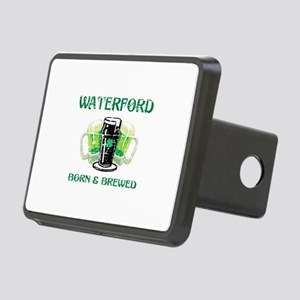 Waterford Born and Brewed Rectangular Hitch Cover