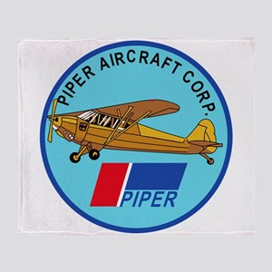 Piper Aircraft Corporation Abzeichen Stadium Blan