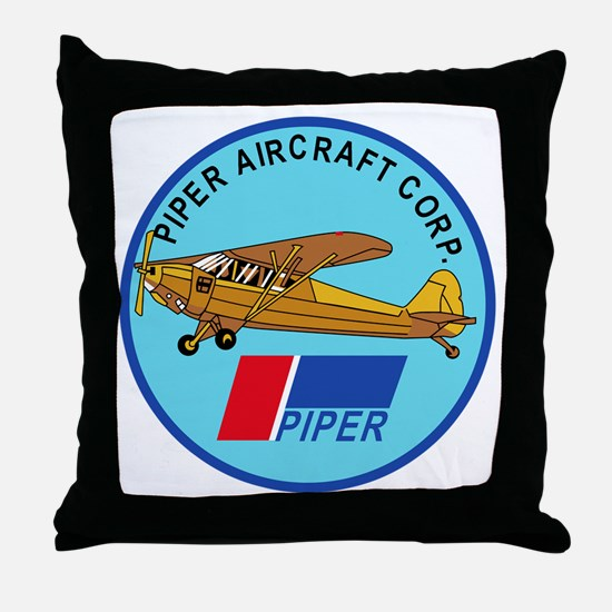 Piper Aircraft Corporation Abzeichen Throw Pillow