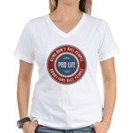 Abortions Kill People Women's V-Neck T-Shirt