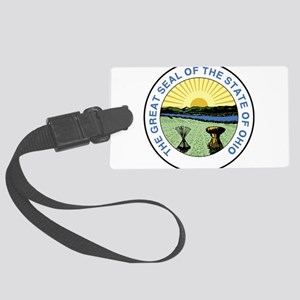 Great Seal of Ohio 1967–1996 Large Luggage Tag