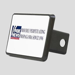 fox news propaganda Rectangular Hitch Cover