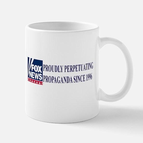 fox news propaganda Mug