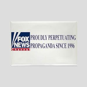 fox news propaganda Rectangle Magnet