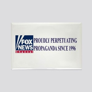 Fox News Channel Propaganda Rectangle Magnets
