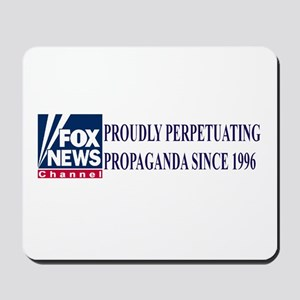 fox news channel propaganda Mousepad