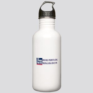 fox news channel propaganda Stainless Water Bottle
