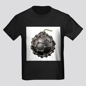 Buckyball bomb, conceptual artwork - Kid's Dark T-