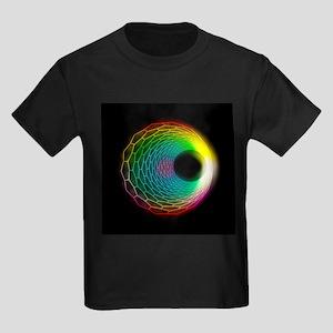 Carbon nanotube - Kid's Dark T-Shirt