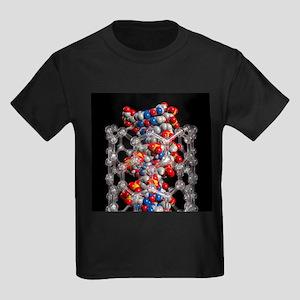 DNA nanotechnology, artwork - Kid's Dark T-Shirt