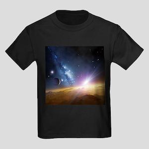 Extrasolar gas giant planet, artwork - Kid's Dark