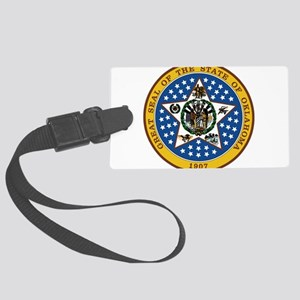 Great Seal of Oklahoma Large Luggage Tag