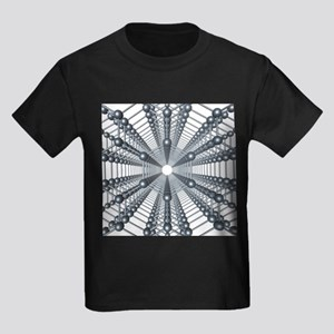 Graphene sheets, artwork - Kid's Dark T-Shirt