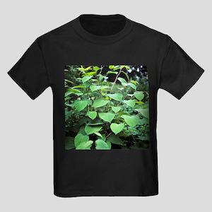 Japanese knotweed - Kid's Dark T-Shirt