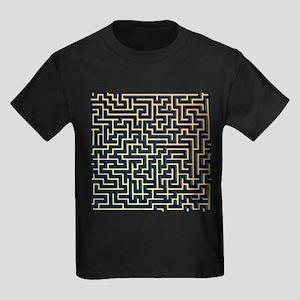 Maze, artwork - Kid's Dark T-Shirt