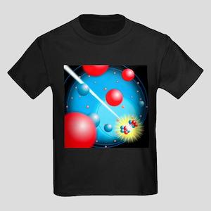 Nuclear fission - Kid's Dark T-Shirt