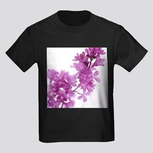 Lilac (Syringa vulgaris) - Kid's Dark T-Shirt